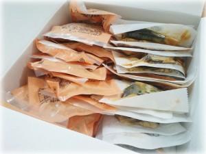 冷凍お惣菜の中身