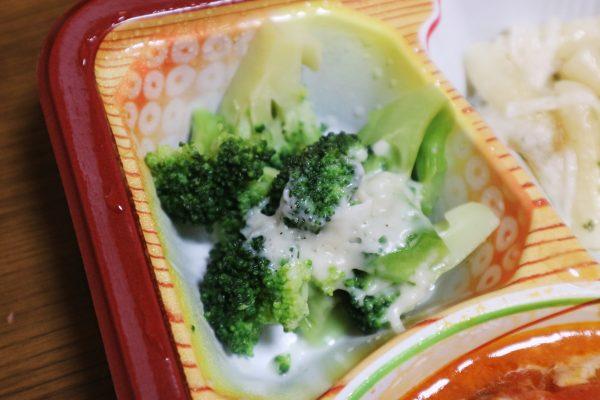 チーズハンバーグセットの副菜・ブロッコリー