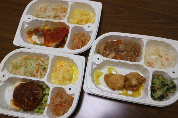 糖質制限のお弁当3種類