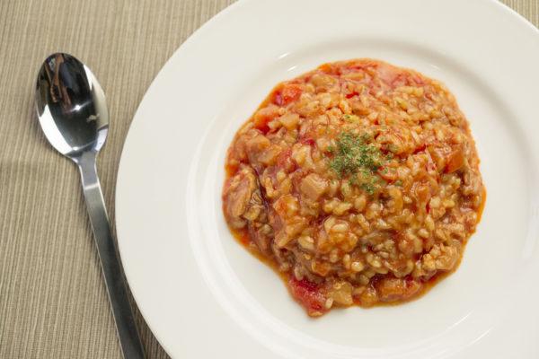 「フィットデリ」のトマト玄米リゾット