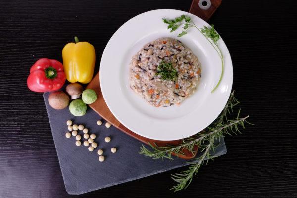 フィットデリ「梅ひじき玄米リゾット」のイメージ画像