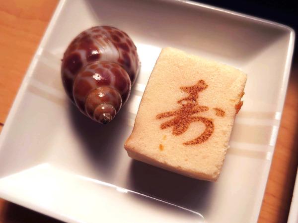 博多久松の500円おせちの高野豆腐など