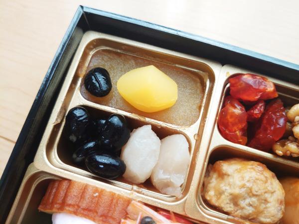 博多久松の500円おせちの甘いもの