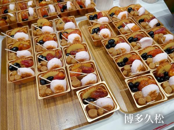博多久松のおせち試食
