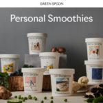 GREEN SPOON スムージーの公式ページキャプチャ画像
