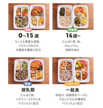 「ママの休食」の選べる4プラン