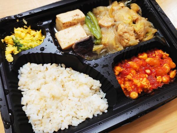 Bキッチン「鶏すき焼き弁当」解凍後