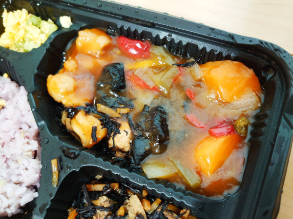 Bキッチンの黒酢酢鶏