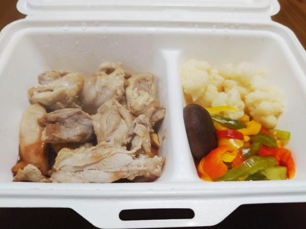 ゴーフードのポン酢鶏もも肉ステーキ