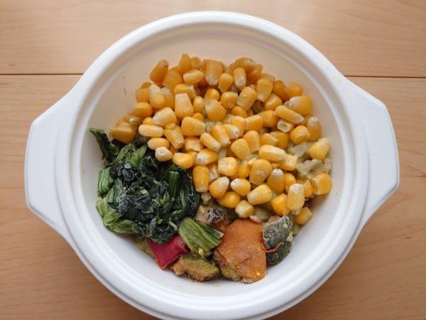 ベジ活スープ食「クリームほうれん草」