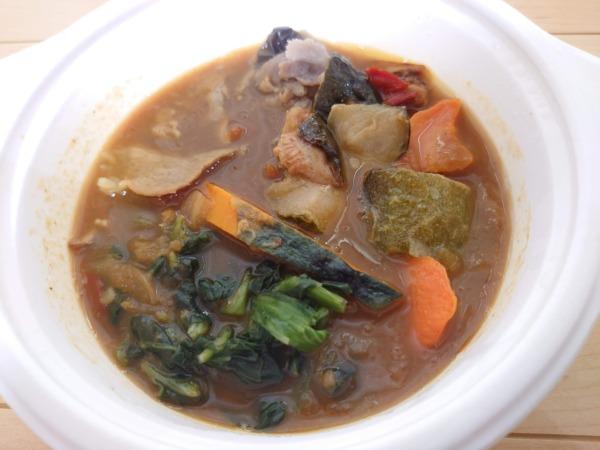 ベジ活スープ食「野菜カレー」温め後