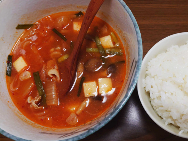 green spoon(グリーンスプーン)スープはご飯と一緒に